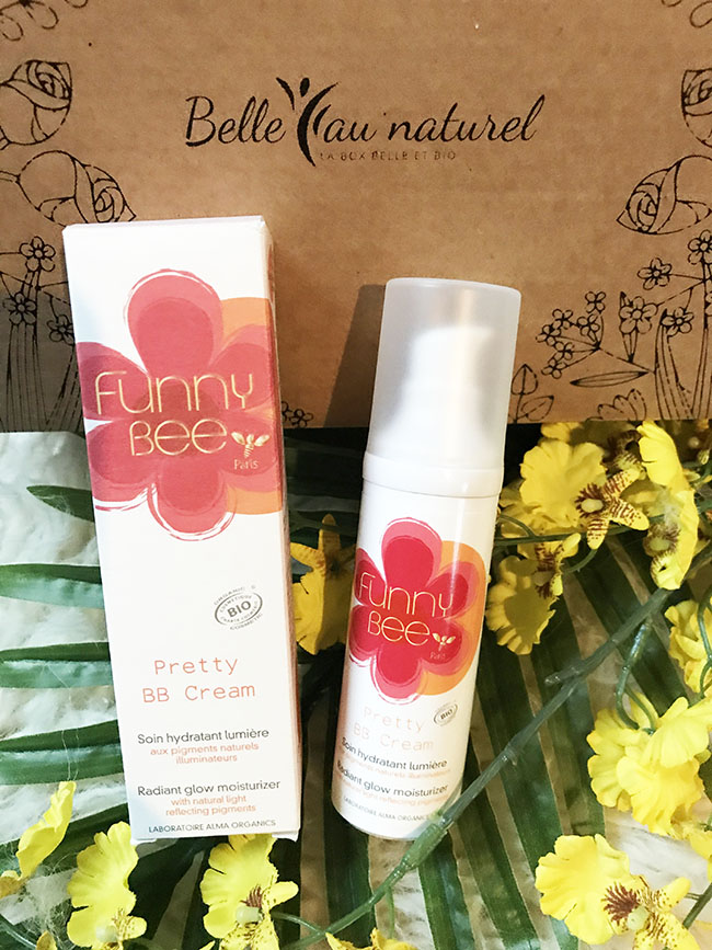 pretty BB cream Funny Bee avis blog @bullesdetestschezflorette