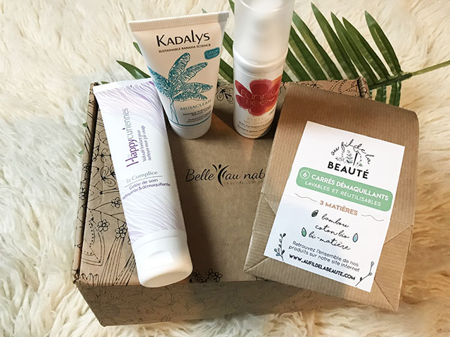 box beauté Belle au Naturel avis blog @bullesdetestschezflorette