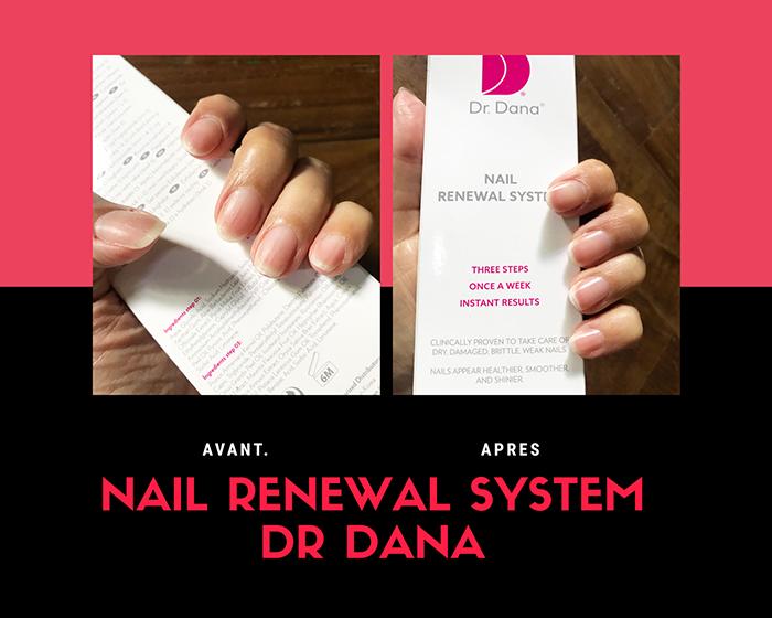 kit ongles Dr Dana Nail Renewal System NuSkin avis blog bullesdetestschezflorette
