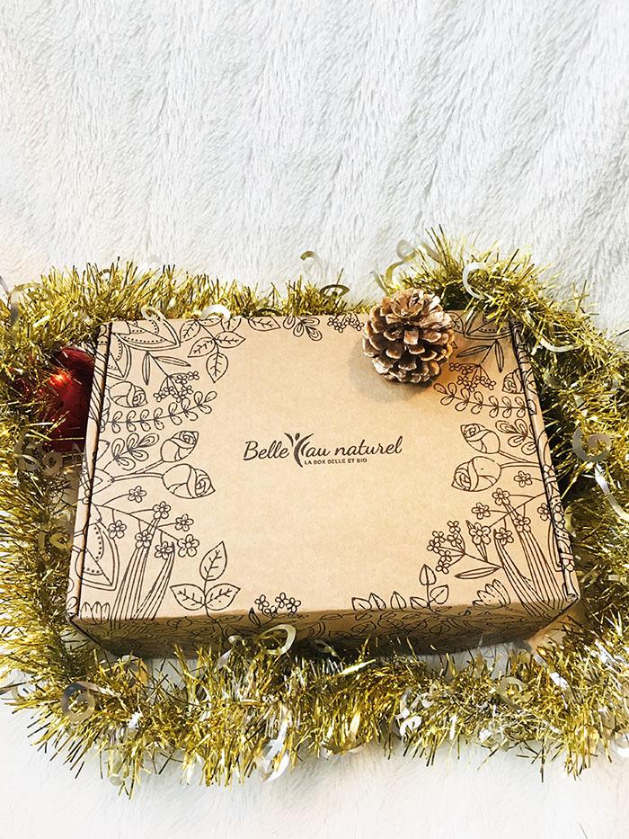 Box beauté Belle au naturel bio janvier 2021 Douceur hivernale Avis bulles de tests chez Florette