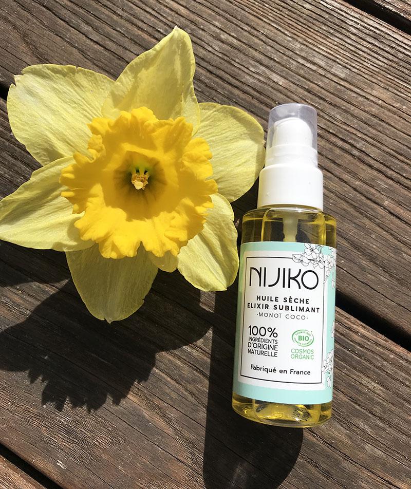 Soins-cosmétiques-bio-Nijiko-huile-seche-monoi-avis-bullesdetestschezflorette