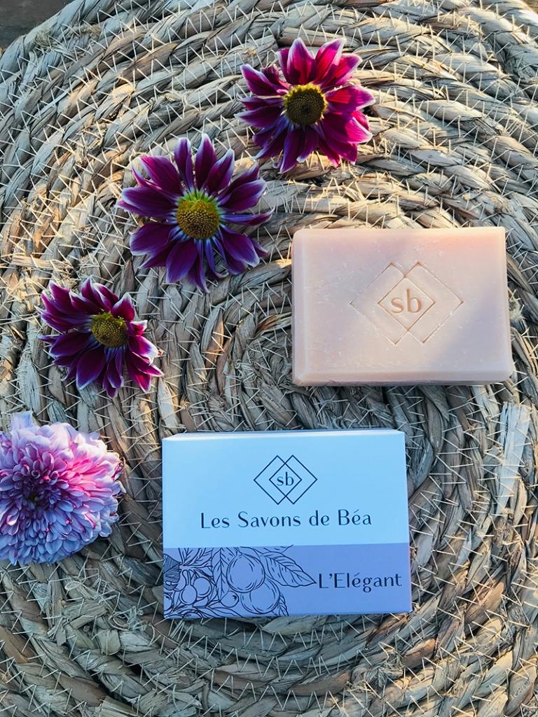 Les-savons-de-Béa-avis-bullesdetestschezflorette-savon-elegant